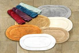 cotton 2 piece oval bath rug set rugs small by