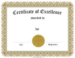 Sports Certificate Sample Editable Certificate Of Recognition