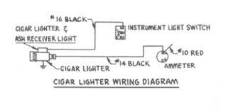 automobilescar wiring diagram page 110 cigar lighter wiring for 1954 studebaker champion and commander