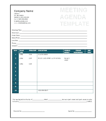 Templates For Meeting Agenda Printable Meeting Agenda Template Free Templates Monthly Meal