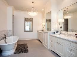 bathroom chandeliers white