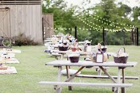 picnic wedding reception. 18 Budget Friendly Picnic Wedding Reception Ideas