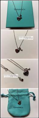 select model necklace 17 love heart tag key pendant