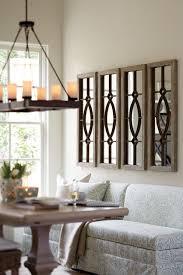 rustic craftsman style mirror wall panels