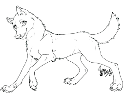 Anime Wolf Coloring Pages Wolf Coloring Pages Fantastic Soundpushr