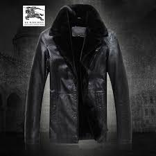 designer burberry mens clothing leather jackets k7s2i