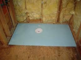 pre sloped shower pan kit sloped shower pan form barrier free shower base during installation sloped