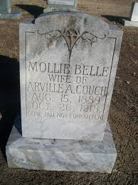 Mollie Belle Newhouse Couch (1889-1918) - Find A Grave Memorial