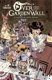 over the garden wall ongoing 14 hunt for hero frog greg hunt for hero frog wirt issue
