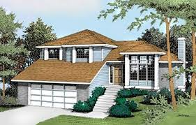 119 1130 front elevation of contemporary home theplancollection house plan 119 1130