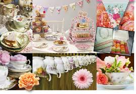 tea party decorations party favors ideas .