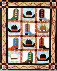 Free Quilt Patterns to Print   Cowboy Boots & Hats Western Quilt ... & Free Quilt Patterns to Print   Cowboy Boots & Hats Western Quilt Pattern,  Chickadee Charms Adamdwight.com