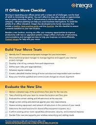 Business Relocation Checklist Template
