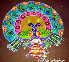 Sankranthi Designs With Dots My Kolam Pongal Kolams Rangoli Designs With Dots Rangoli