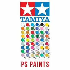 Tamiya Ps Paint Chart Tamiya Ps 1 To Ps 63 100ml Polycarbonate Lexan Ps Rc Car