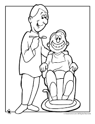 Dental Coloring Books - Free Clipart
