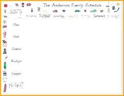 Daily Routine Printable Printable Daily Activity Chart Laredotennis Co