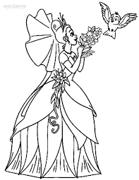 30 free printable princess and the frog coloring pages