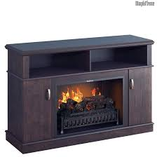 hypnos midnight cherry wood media center electric for simple most realistic electric fireplace insert