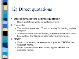 Copy Of Commas In Dialogue Lessons Tes Teach