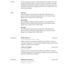 Resume Templates For Word 2007 Resume Template Word Resume Elegant ...