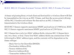 802 11 frame format chapter 04 ieee media access control ppt download