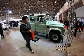 land rover defender at the tokyo auto salon 2016 picture by bertel schmitt