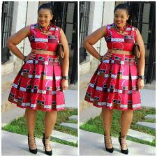 African Print Designs For Plus Size 30 Ankara Plus Size Pleated Dresses For Women On The Big