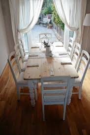 Shab Chic Round Dining Table Rustic Chic Dining Tables Rustic Chic - Dining room tables rustic style