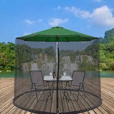 large umbrella mosquito net patio