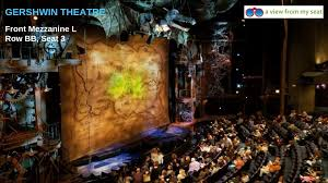 The Dome Arena Seating Chart Gershwin Theater Seating Chart Get The Best Seats For Wicked
