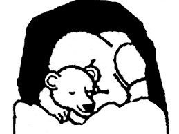 Small Picture sleeping bear coloring pages free bear coloring page clipart