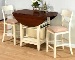 Drop Leaf Kitchen Table Chairs Drop Leaf Table With Chair Storage