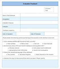 Employee Evaluation Checklist Template Sample Hr Evaluation Forms Examples Doc Free Sample Employee