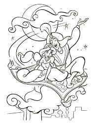 Today, we advise disney aladdin genie coloring pages for you, this content is similar with halloween puzzle coloring pages. Disney Aladdin Coloring Pages Coloringme Com