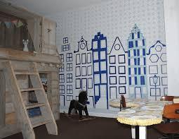 Blauw Behang Woonkamer Bäddat För Blått Ikea Livet Hemma