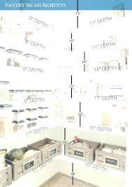 pantry shelf depth pantry shelf height pantry shelves spacing pantry cabinets depth
