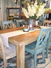 farmhouse table set unique round farmhouse dining table and chairs distressed kitchen for farm decorations 0