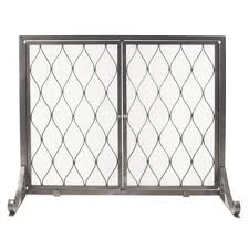 Unique fireplace screens Custom Stonewall Single Panel Steel Fireplace Screen Wayfair Fireplace Screens Doors Youll Love Wayfair