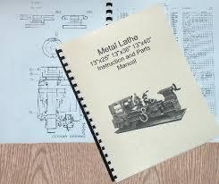 13x25 13x36 13x40 metal lathe manual jet enco grizzly 0773 item specifics
