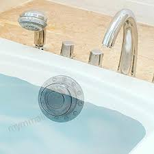 seal essentially yours value pack kit bathtub drain stopper and bath overflow drain cover increase bathtub water levels seal bathtub drain leak fix