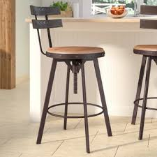 swivel bar chairs. Contemporary Chairs Henley Adjustable Height Swivel Bar Stool Throughout Chairs