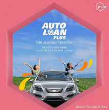 Auto loans are similar to other types of loans in that they're a lump sum given to pay for your new without gap insurance, you may end up having to continue making loan payments on a car you. Rcbc Rcbc S Auto Loan Plus Brings You A Step Closer To Facebook