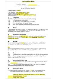 how to take minutes for a meeting template 19 free meeting minutes templates in ms word ms office docs