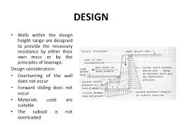 Small Picture Concrete Retaining Wall Design Example Perfect Design Of
