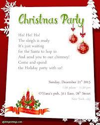 Microsoft Christmas Party Xmas Invitation Templates Party Invitation Wording Com Christmas