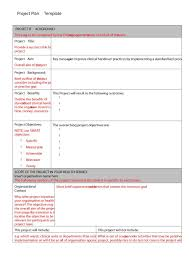 Project Planning Template Free 48 Professional Project Plan Templates Excel Word Pdf