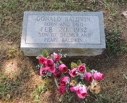 Donald Baldwin (1932-1932) - Find A Grave Memorial