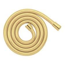 rubber hand shower hose in brass