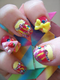 Picture 4 of 5 - 3d Japanese Nail Art - Photo Gallery | 2016 ...